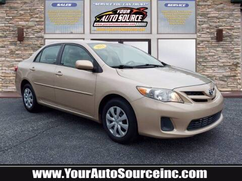 2011 Toyota Corolla for sale at Your Auto Source in York PA