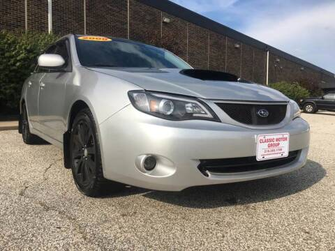 2008 Subaru Impreza for sale at Classic Motor Group in Cleveland OH