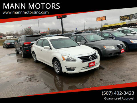 2013 Nissan Altima for sale at MANN MOTORS in Albert Lea MN