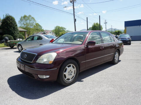 2002 Lexus LS 430 for sale at CHAPARRAL USED CARS OF ERWIN in Erwin TN