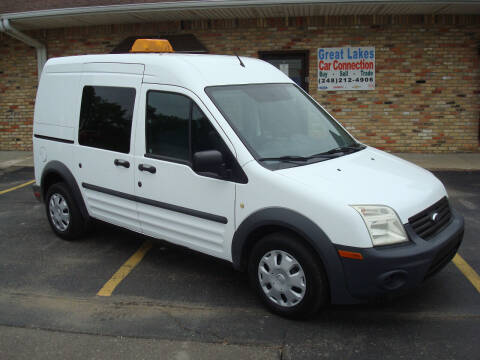 2012 Ford Transit Connect for sale at Great Lakes Car Connection in Metamora MI