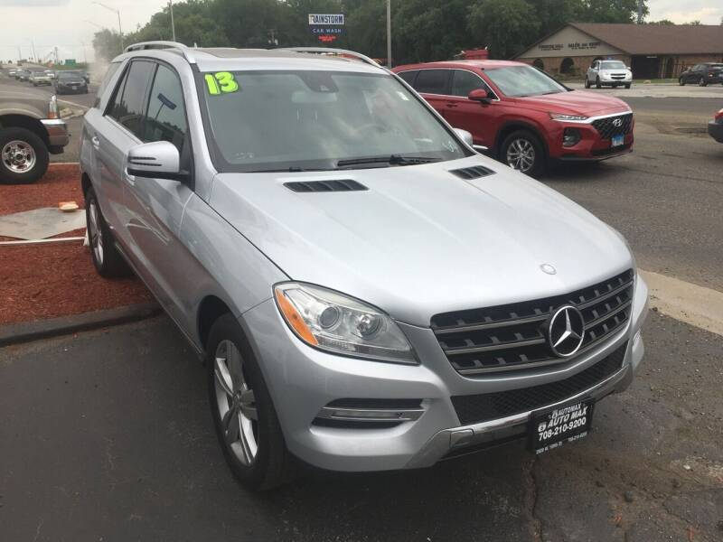 2013 Mercedes-Benz M-Class for sale at ROUTE 6 AUTOMAX in Markham IL