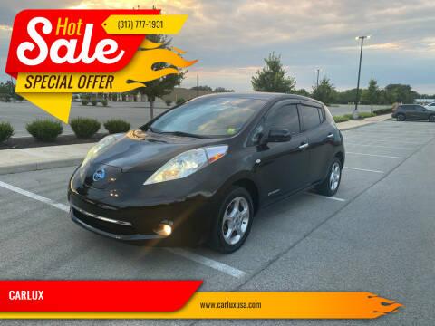 2011 Nissan LEAF for sale at CARLUX in Fortville IN