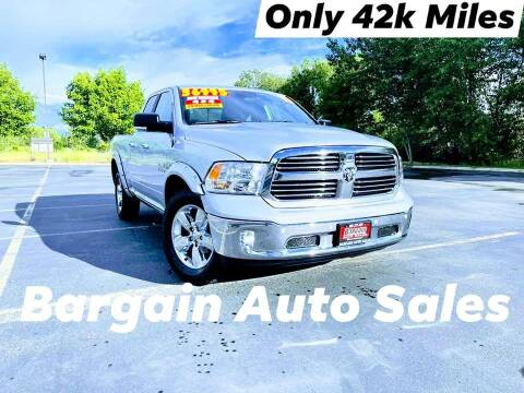 2017 RAM Ram Pickup 1500 for sale at Bargain Auto Sales LLC in Garden City ID