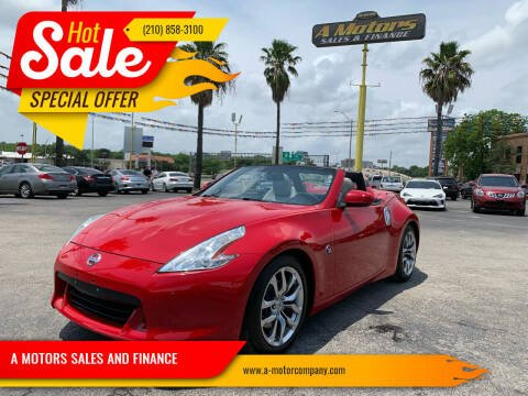2011 Nissan 370Z for sale at A MOTORS SALES AND FINANCE in San Antonio TX