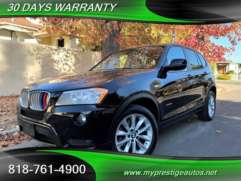 2014 BMW X3 for sale at Prestige Auto Sports Inc in North Hollywood CA