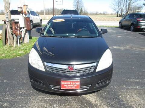 2009 Saturn Aura for sale at Knauff & Sons Motor Sales in New Vienna OH