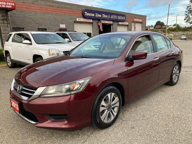 2013 Honda Accord for sale at AutoCredit SuperStore in Lowell MA