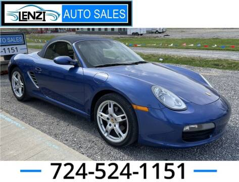 2007 Porsche Boxster for sale at LENZI AUTO SALES in Sarver PA