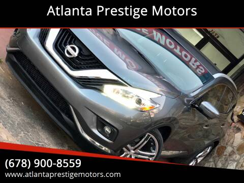 2017 Nissan Murano for sale at Atlanta Prestige Motors in Decatur GA
