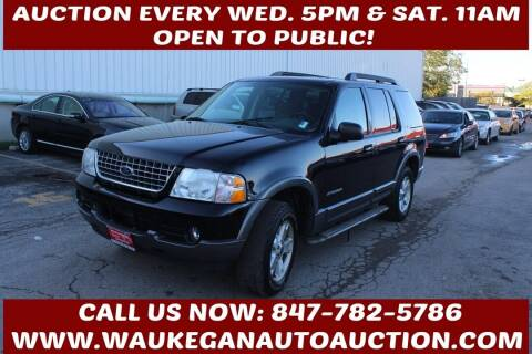 2005 Ford Explorer for sale at Waukegan Auto Auction in Waukegan IL