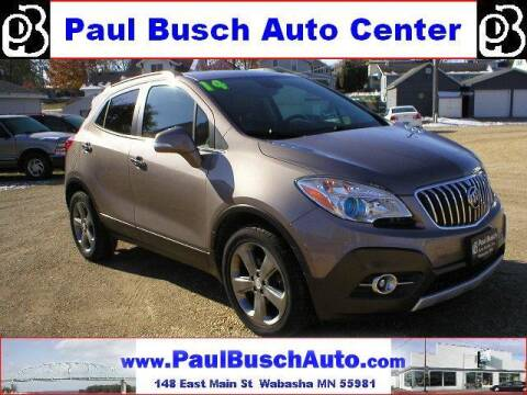2014 Buick Encore for sale at Paul Busch Auto Center Inc in Wabasha MN