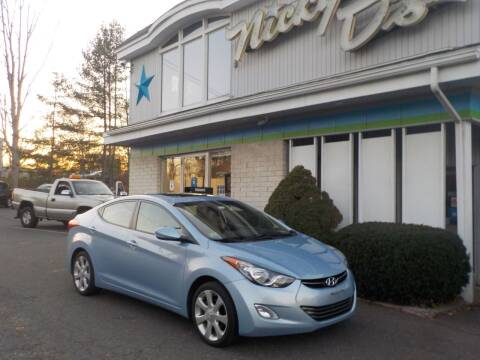 2012 Hyundai Elantra for sale at Nicky D's in Easthampton MA