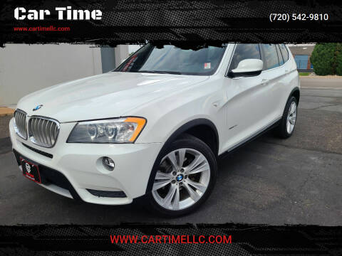 2013 BMW X3 for sale at Car Time in Denver CO