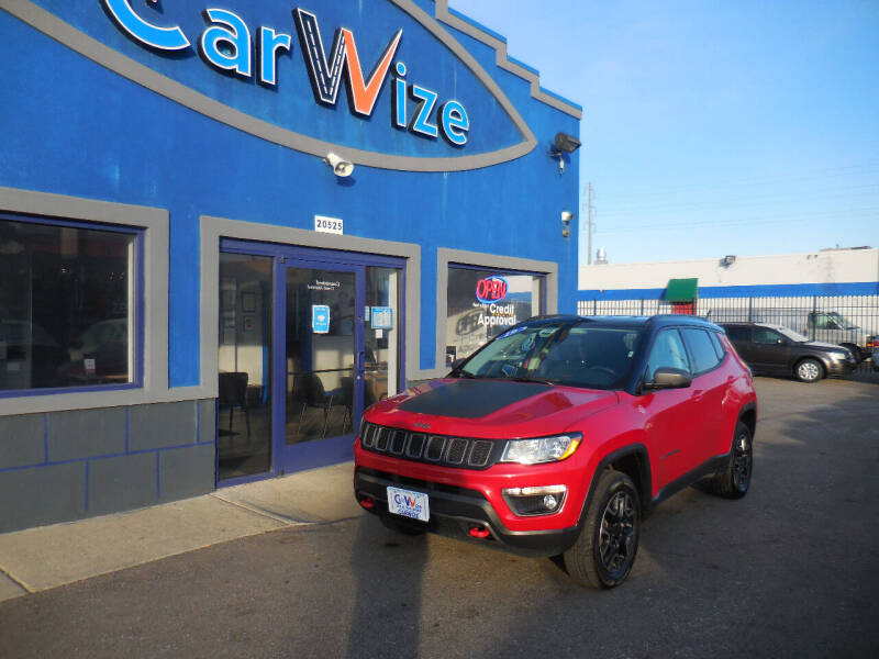 2019 Jeep Compass for sale at Carwize in Detroit MI