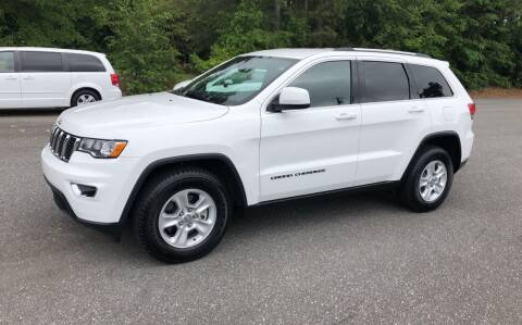 2017 Jeep Grand Cherokee for sale at Dorsey Auto Sales in Anderson SC