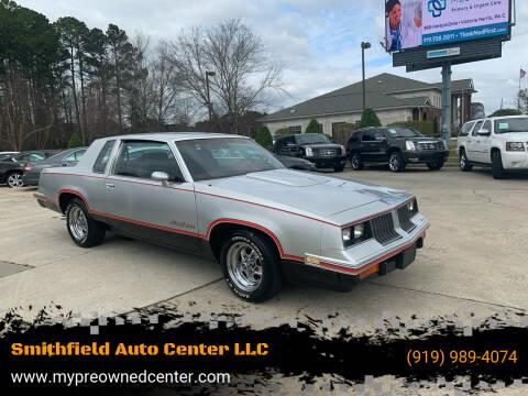 1984 Oldsmobile Cutlass Calais for sale at Smithfield Auto Center LLC in Smithfield NC