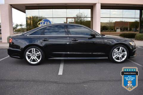 2017 Audi A6 for sale at GOLDIES MOTORS in Phoenix AZ