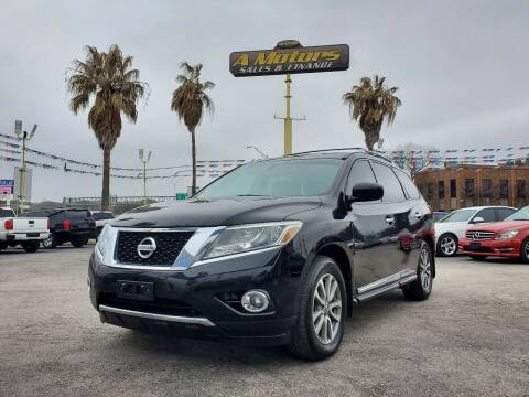 2014 Nissan Pathfinder for sale at A MOTORS SALES AND FINANCE - 5630 San Pedro Ave in San Antonio TX