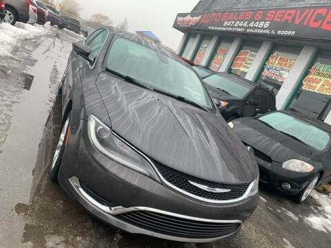 2015 Chrysler 200 for sale at Washington Auto Group in Waukegan IL