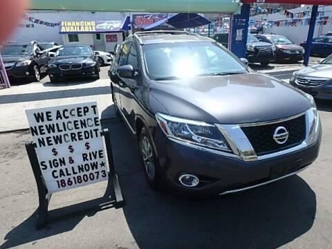 2014 Nissan Pathfinder for sale at 4530 Tip Top Car Dealer Inc in Bronx NY