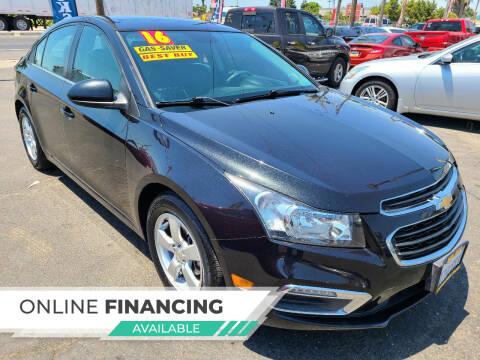 2016 Chevrolet Cruze Limited for sale at Super Cars Sales Inc #1 - Super Auto Sales Inc #2 in Modesto CA