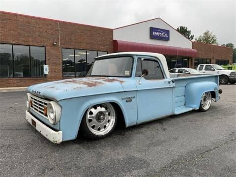 1967 Dodge D 100 for sale at Impex Auto Sales in Greensboro NC