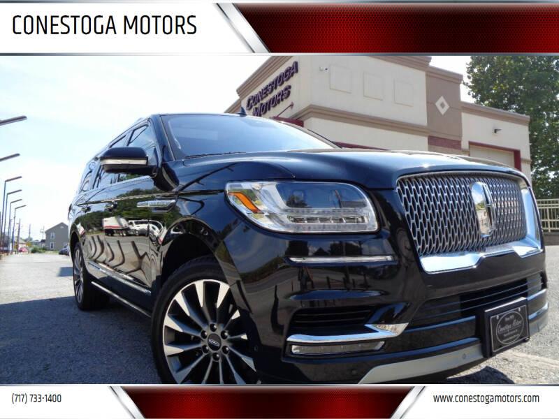 2019 Lincoln Navigator L for sale at CONESTOGA MOTORS in Ephrata PA