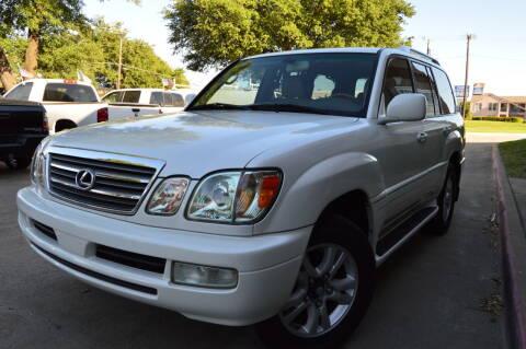 2005 Lexus LX 470 for sale at E-Auto Groups in Dallas TX