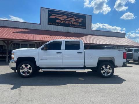 2017 Chevrolet Silverado 3500HD for sale at Ridley Auto Sales, Inc. in White Pine TN