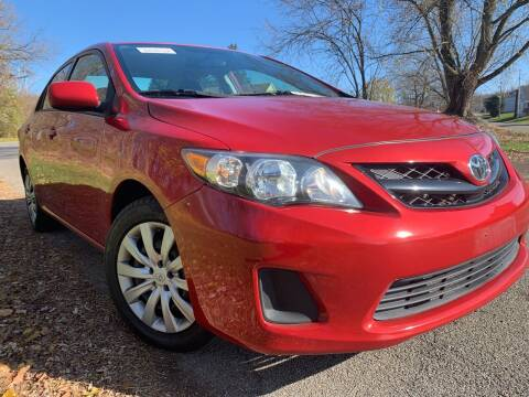 2012 Toyota Corolla for sale at Trocci's Auto Sales in West Pittsburg PA