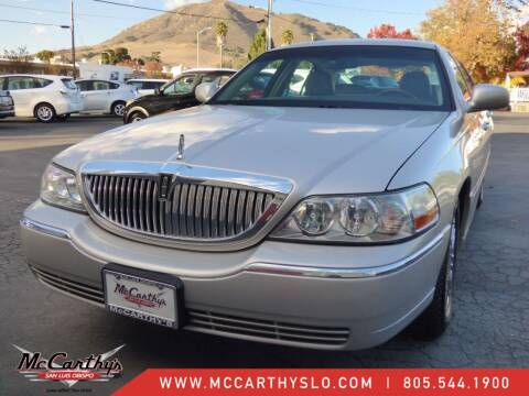 2009 Lincoln Town Car for sale at McCarthy Wholesale in San Luis Obispo CA