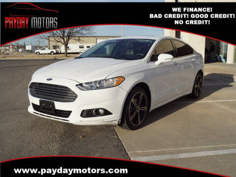 2014 Ford Fusion for sale at Payday Motors in Wichita And Topeka KS