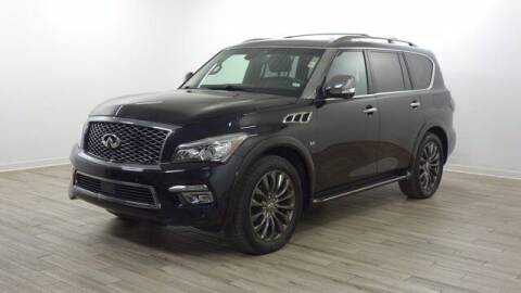2016 Infiniti QX80 for sale at TRAVERS GMT AUTO SALES - Traver GMT Auto Sales West in O Fallon MO
