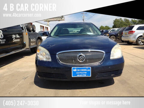 2009 Buick Lucerne for sale at 4 B CAR CORNER in Anadarko OK