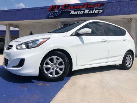 2014 Hyundai Accent for sale at El Camino Auto Sales Gainesville in Gainesville GA