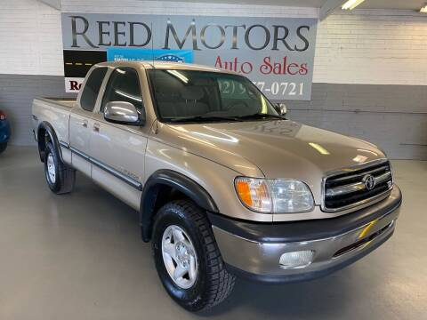 2002 Toyota Tundra for sale at REED MOTORS LLC in Phoenix AZ