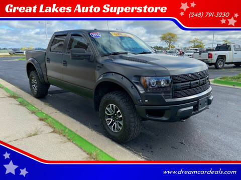 2014 Ford F-150 for sale at Great Lakes Auto Superstore in Waterford Township MI