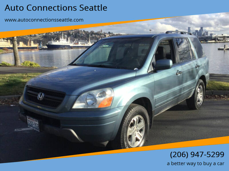 2005 Honda Pilot for sale at Auto Connections Seattle in Seattle WA