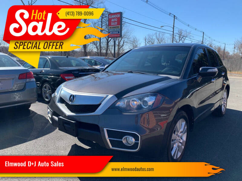 2010 Acura RDX for sale at Elmwood D+J Auto Sales in Agawam MA