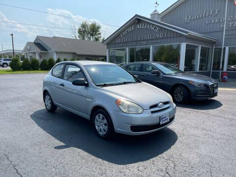 2009 Hyundai Accent for sale at Empire Alliance Inc. in West Coxsackie NY