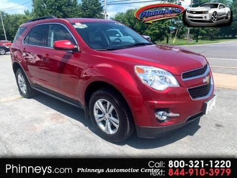 2013 Chevrolet Equinox for sale at Phinney's Automotive Center in Clayton NY