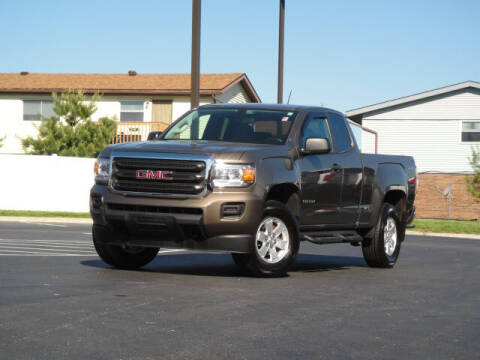 2016 GMC Canyon for sale at Jack Schmitt Chevrolet Wood River in Wood River IL