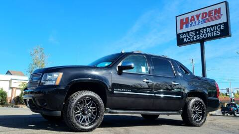 2013 Chevrolet Avalanche for sale at Hayden Cars in Coeur D Alene ID