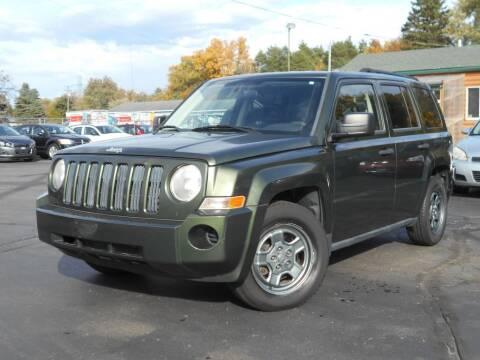 2009 Jeep Patriot for sale at MT MORRIS AUTO SALES INC in Mount Morris MI