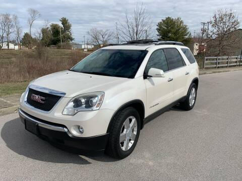 2007 GMC Acadia for sale at Abe's Auto LLC in Lexington KY
