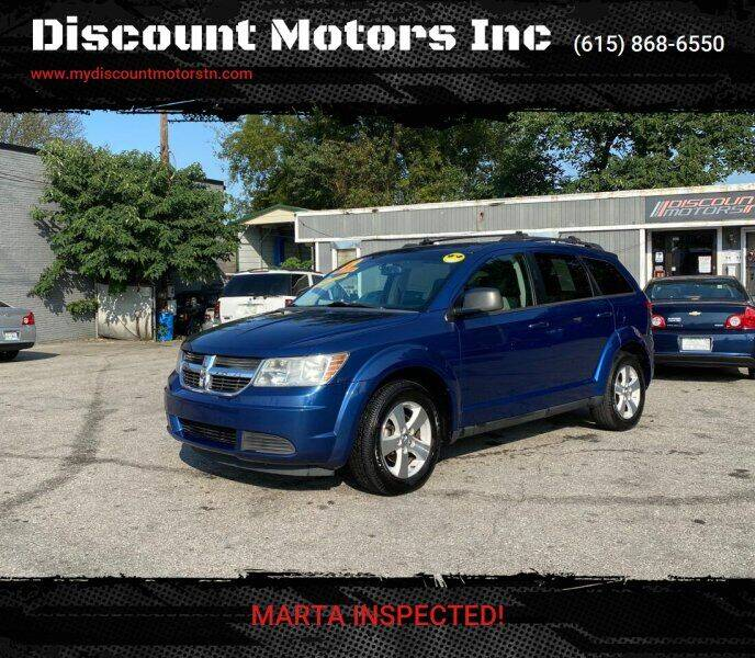 2009 Dodge Journey for sale at Discount Motors Inc in Madison TN