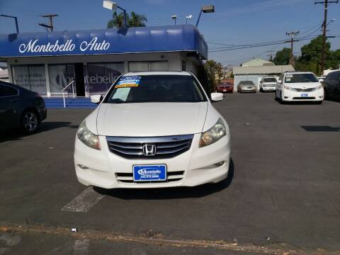 2011 Honda Accord for sale at Montebello Auto Sales in Montebello CA