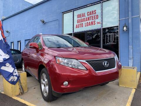 2010 Lexus RX 350 for sale at Ideal Cars in Hamilton OH