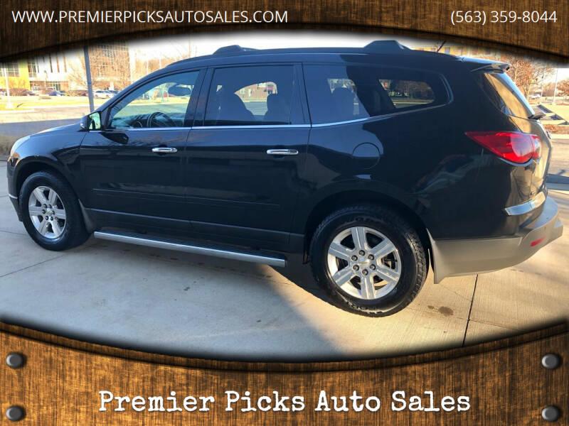 2011 Chevrolet Traverse for sale at Premier Picks Auto Sales in Bettendorf IA